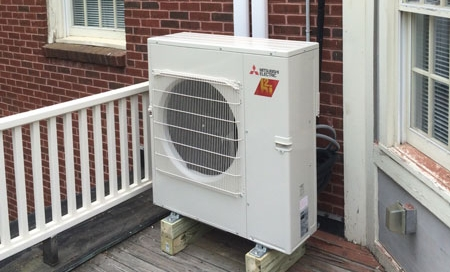 Preferred Air installs Mitsubishi ductless equipment.