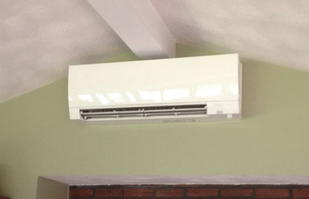 Preferred Air will professionally install top of the line ductless heating and cooling equipment.