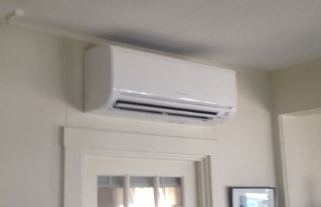 Ductless air conditioning is an option for homeowners who do not want expensive ductwork.