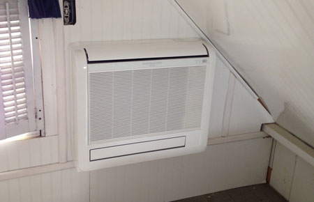 Ductless systems are less expensive than central systems.