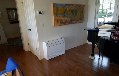 Floor Mount Mitsubishi Ductless In Rockport Ma