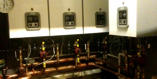 Perferred Air replaced an old, inefficient heatign system with a new Triangle HIgh boiler.